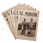 """Jornal """"Le Miroir"""" - 6 publicações"""